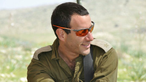Maj. Hagai Ben Ari, who was critically wounded on July 21, 2014 during Operation Protective Edge in Gaza, died Tuesday, January 3, 2017. (Courtesy)