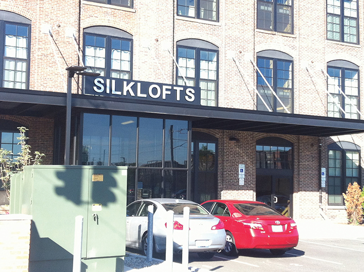 Bayonne's old Maidenform building is being converted into housing called Silklofts.