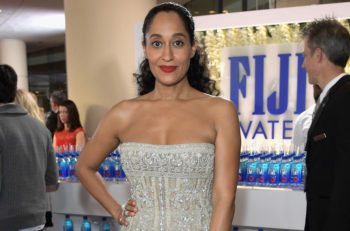 L'actrice Tracee Ellis Ross aux Golden Globe Awards, à Beverly Hills, en Californie, le 8 janvier 2017. (Crédit : Charley Gallay/Getty Images for FIJI Water)