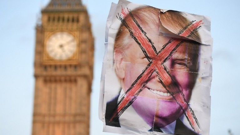 Downing Street 'not aware' of any snap Trump visit