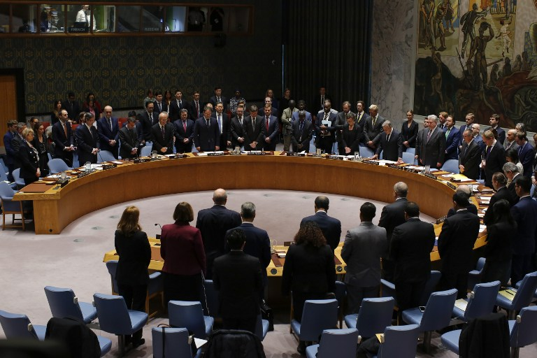 Russian Federation  vetoes United Nations  resolution sanctioning Syria for chemical weapons use