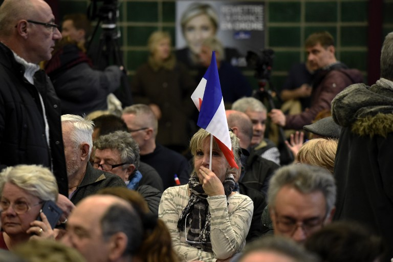 In France Election turns ugly as political attacks mount
