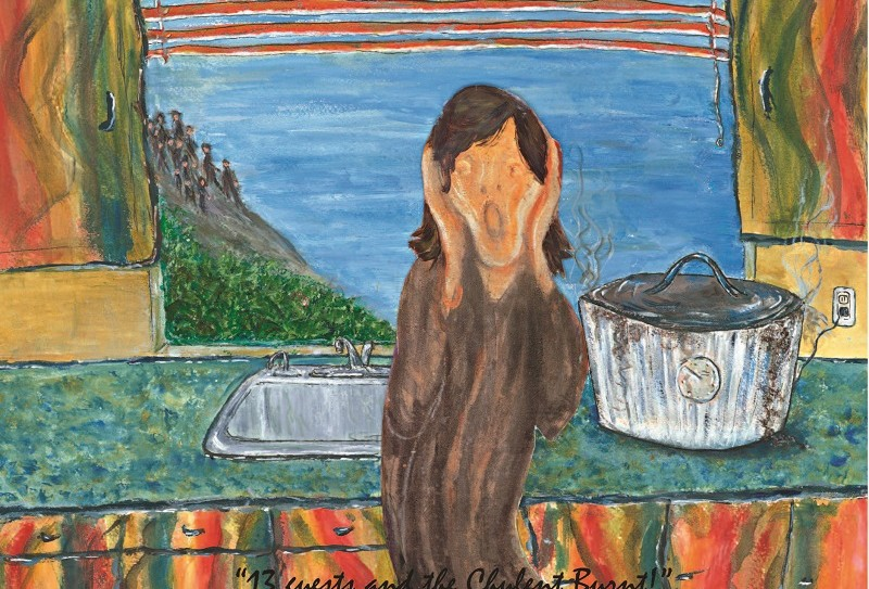 13 Guests & the Cholent Burnt_Munch's The Scream
