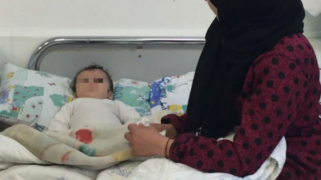 Patients from Syria being treated in Ziv hospital in Israel