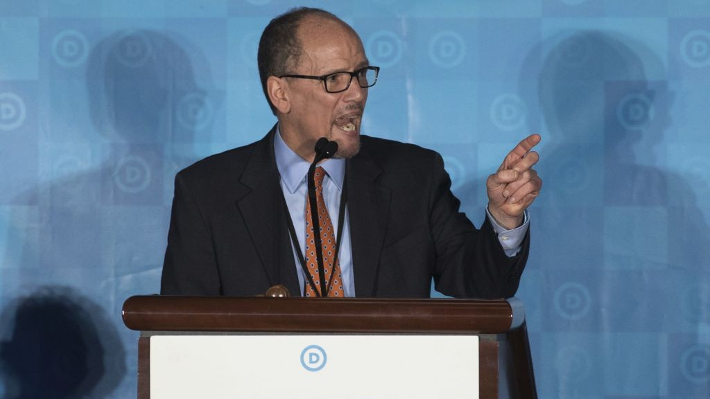 Tom Perez Elected To Chair Dnc Names Defeated Keith