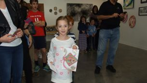 Chanukah Art Contest Reception