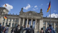 The Reichstag building in Berlin on May 15, 2016. (Hadas Parush/Flash90)