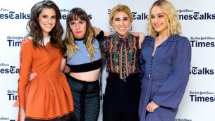 """TimesTalks: A Final Farewell To The Cast Of HBO's """"Girls"""""""