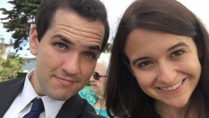 Ezra Levin and Leah Greenberg founded the anti-Trump group Indivisible with other former congressional staffers.