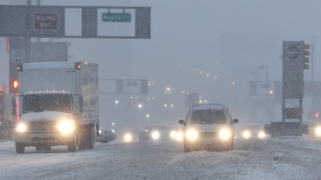Another winter storm to 'hammer' Northeast US with strong winds, snow