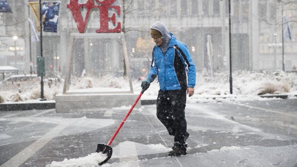 USA snow a problem for some, but a joy for others