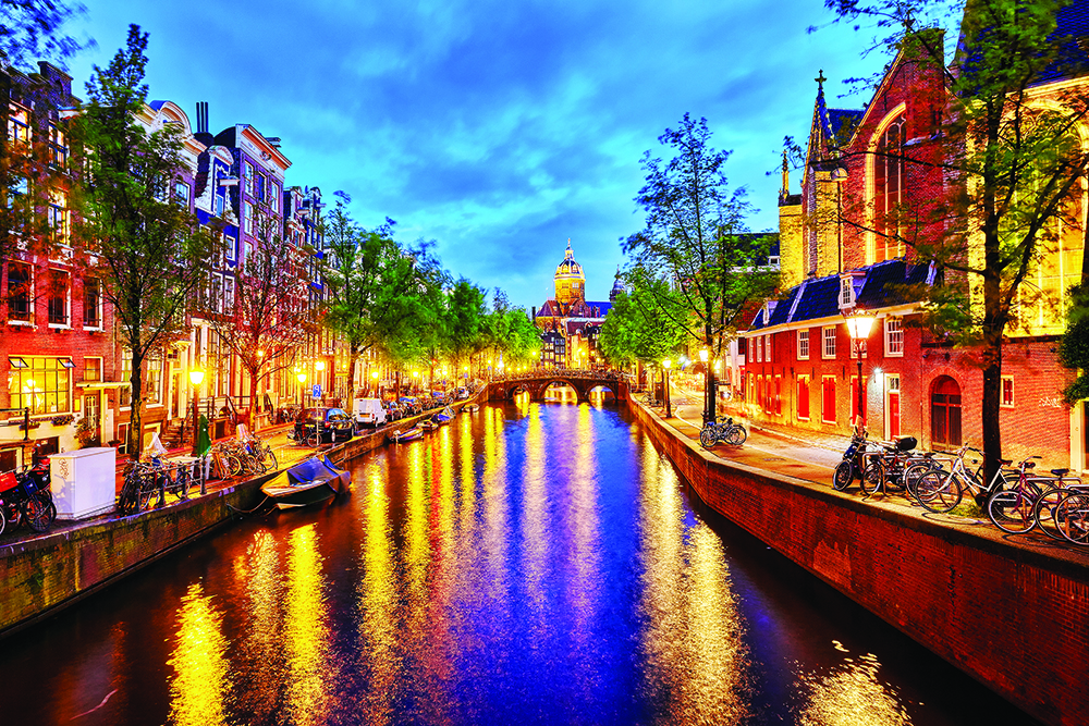 Amsterdam, Netherlands: active leisure, entertainment and