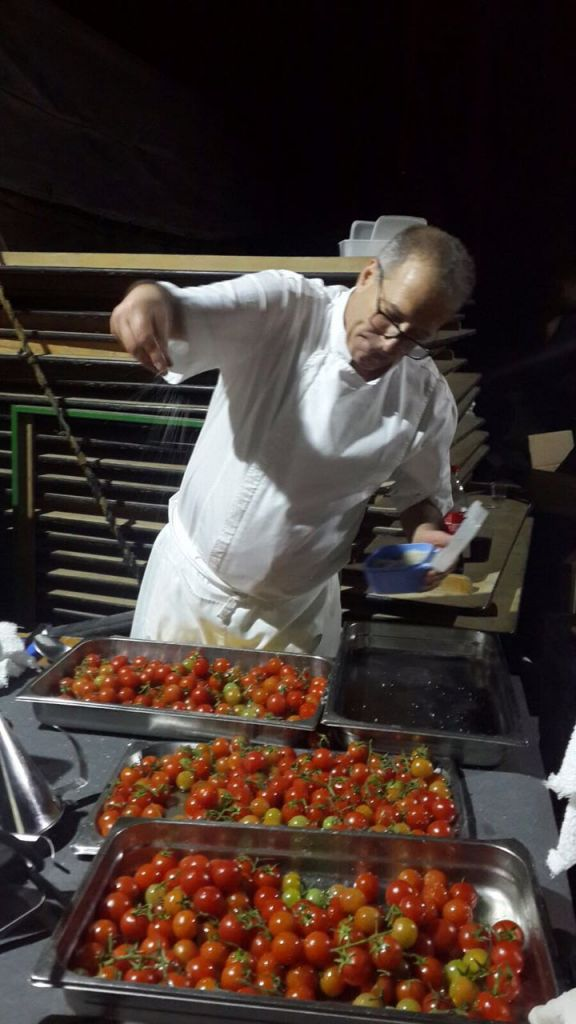 Chef Ofir Kedem loves cooking - even for his staff