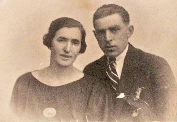 Hirsch's parents, Channah and Mendel Dobian.