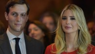 Candidate's daughter, Ivanka, with her husband, Jared