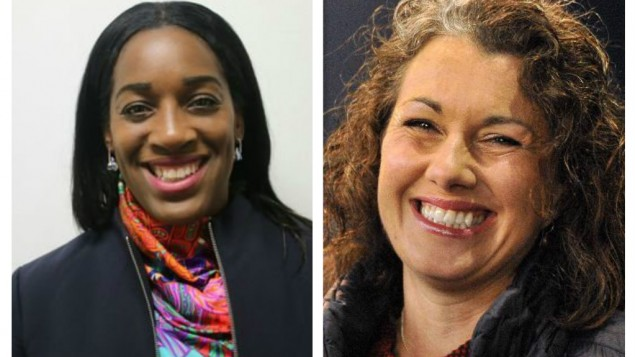 Kate Osamor and Sarah Champion