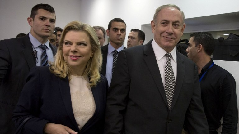 My wife didn't kick me out of auto, Netanyahu says