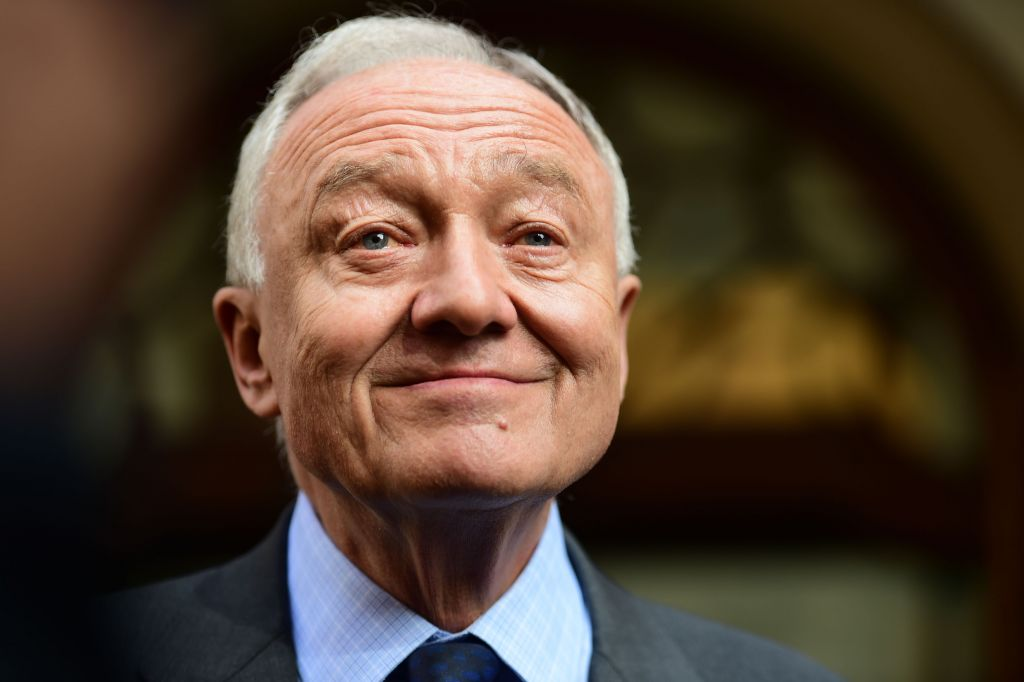 Ken Livingstone . (Photo credit: Lauren Hurley/PA Wire)