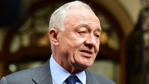 Ken Livingstone at Church House, Westminster, London, for a disciplinary hearing where he faces a charge of engaging in conduct that was grossly detrimental to the party following his controversial comments about Adolf Hitler. (Photo credit: Lauren Hurley/PA Wire)