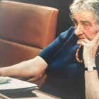 Golda Meir on the day she resigned as prime minister on April 11th 1974