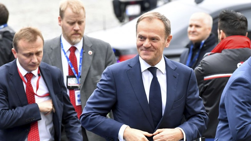 European Union  leaders voted to reappoint Donald Tusk despite stark Polish opposition