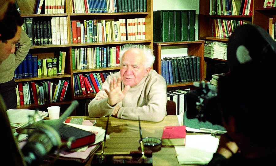 Ben-Gurion 1968 Interview_Photo by Malcolm Stewart
