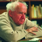 Ben-Gurion on the set of the 1968 Interview_Photo Courtesy of David Marks_