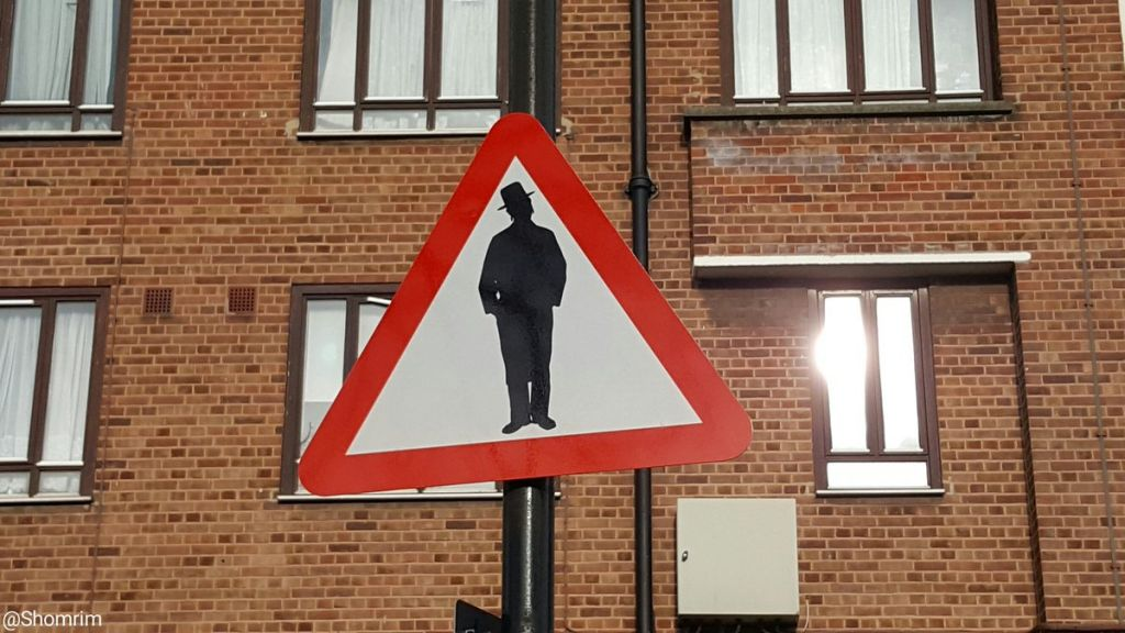 'Beware of Jews' sign in Stamford Hill reported to police