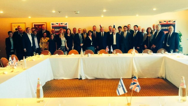 UK Trade Minister meets Israeli business leaders