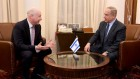 Jason Greenblatt meeting with Israeli PM Benjamin Netanyahu in March. In July he made another trip to Israel to seal a water deal with the Palestinians