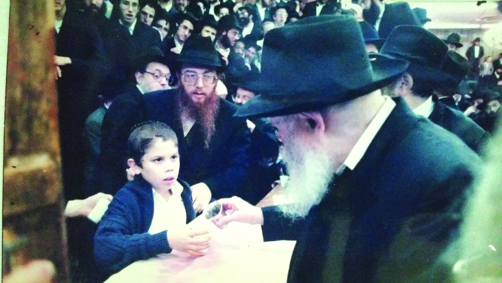 Rabbi Dov Katz, Chabad West Hampstead, as a child