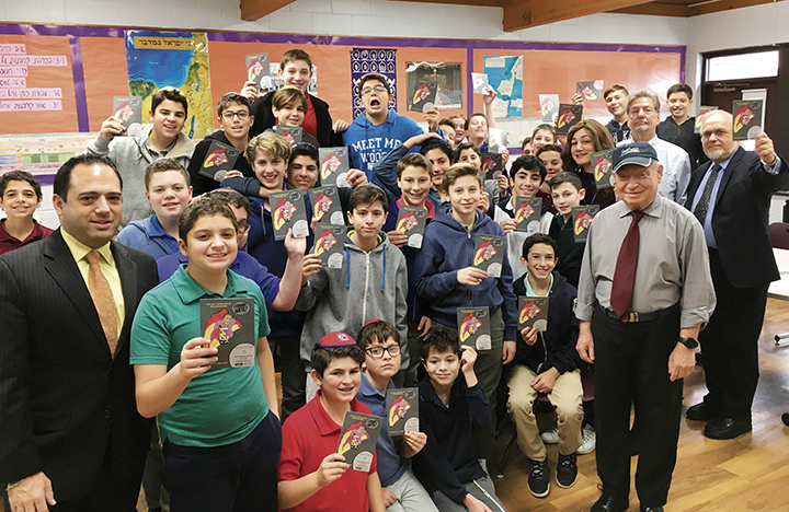 The Moriah School in Englewood ran a program teaching kids to fight hatred online with the Simon Wiesenthal Center.