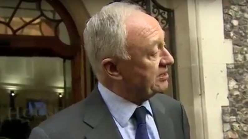 Former London mayor and senior Labour Party official Ken Livingstone on March 30, 2017. (Screen capture: YouTube)