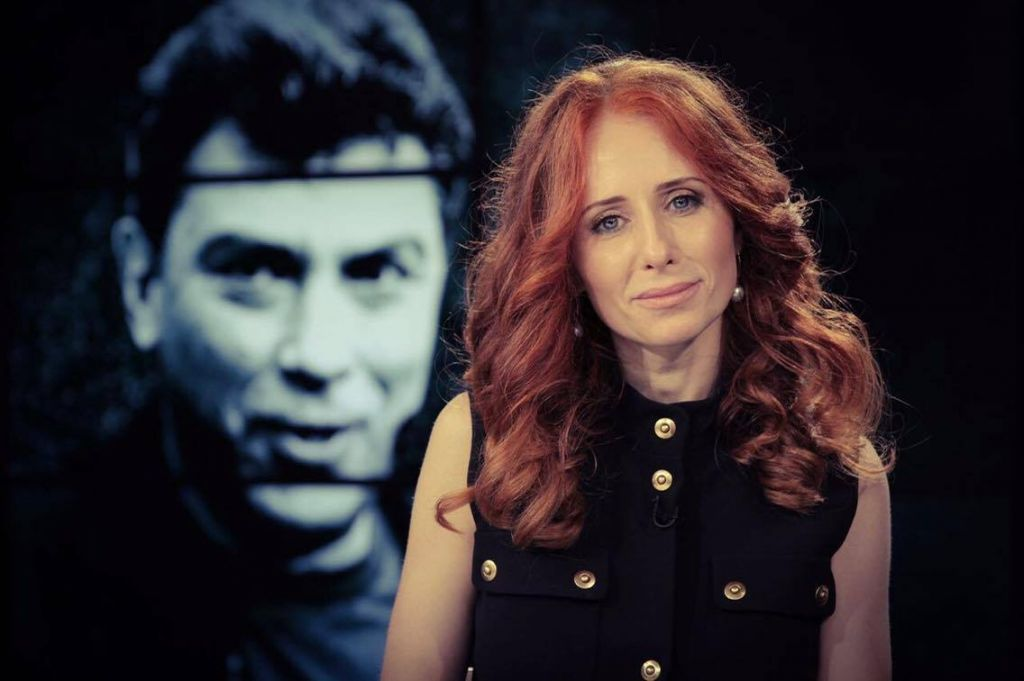 Vera Krichevskaya, another Jewish filmmaker who made a documentary about Boris Nemtsov. (Courtesy)