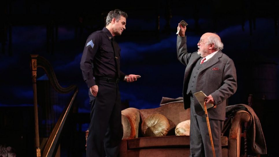 Mark Ruffalo and Danny DeVito in THE PRICE, Photo by Joan Marcus, 2017