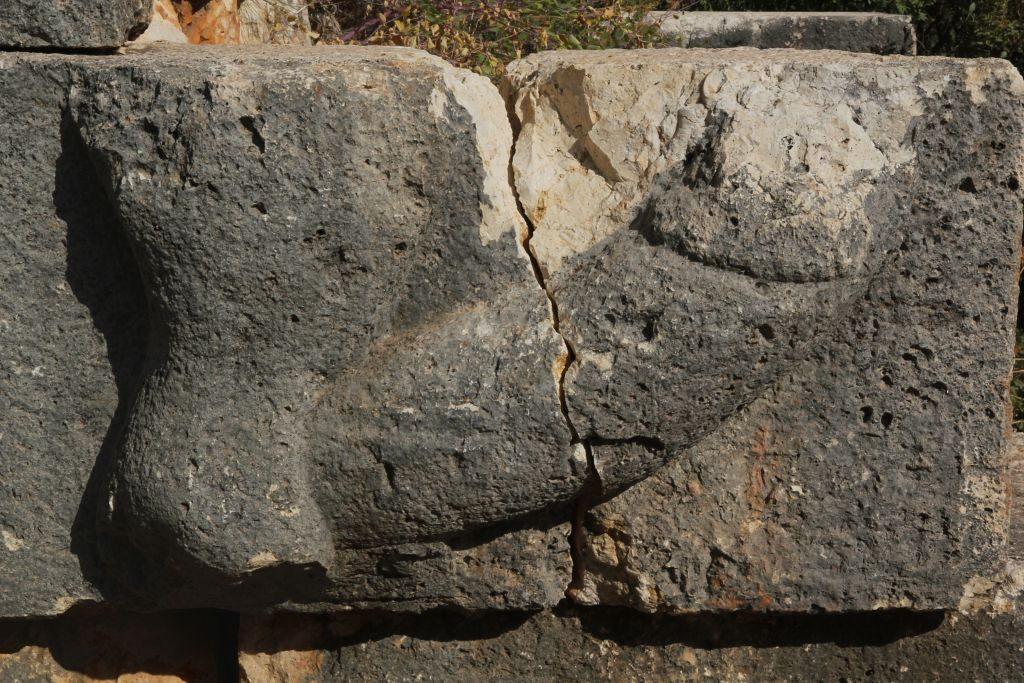 A phallic relief from a Roman era site in southern Turkey. (Klaus-Peter Simon, CC BY-SA Wikimedia Commons)