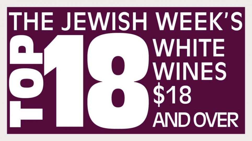 Top Kosher White Wines $18 +