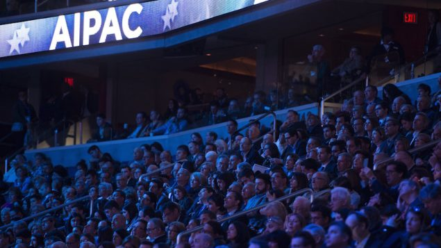 The crowd at last year's AIPAC conference