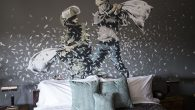 British Artist Banksy Opens Walled Off Hotel In Bethlehem