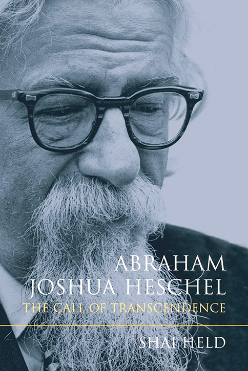 The cover of Rabbi Held's book on the influential theologian Rabbi Abraham Joshua Heschel.