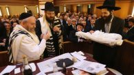 Orthodox Jews Hold Circumcision Ceremony