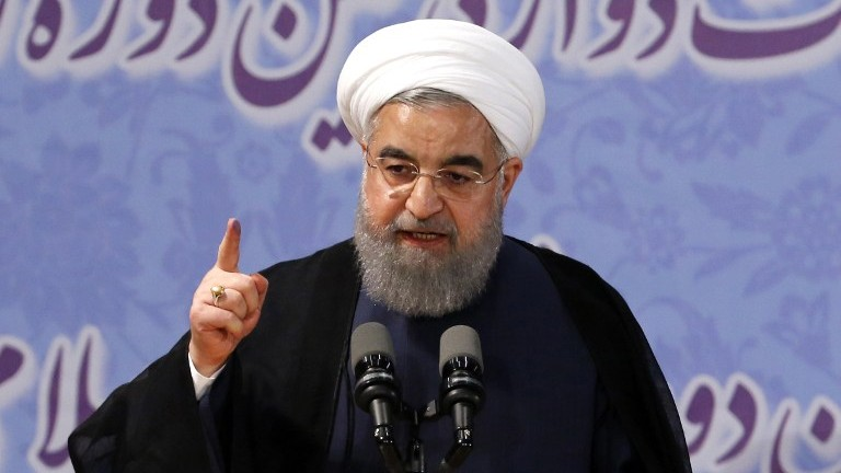 Iran's Rouhani enters presidential race