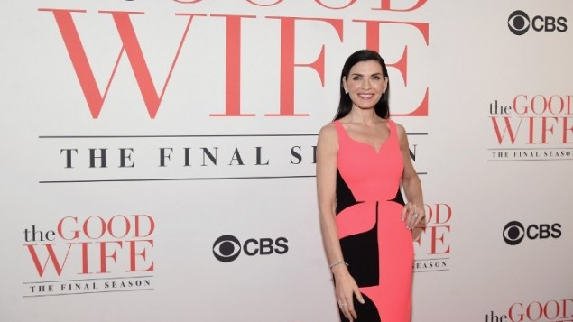 Julianna Margulies à New York, le 28 avril 2016. (Crédit : Jamie McCarthy/Getty Images North America/AFP)