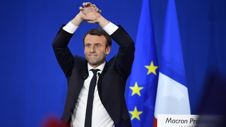 Macron, Le Pen Head to Runoff in French Presidential Race