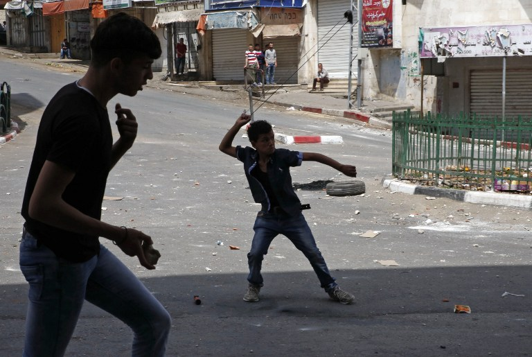 Palestinians say 3 wounded at protests for prisoners