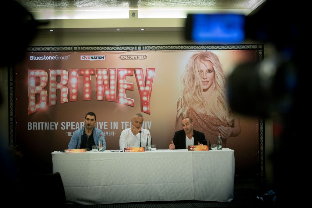 Britney Spears Concert Delays Israeli Election