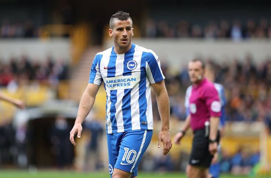 Brighton striker Tomer Hemed banned for stamp on DeAndre Yedlin