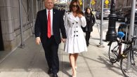 Mira Tzur works as a Melania Trump impersonator alongside John Di Domenico. JTA