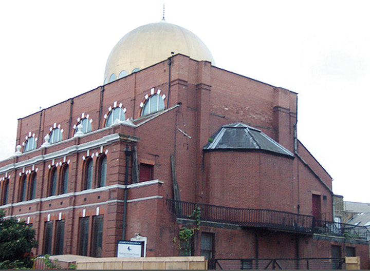 Dr. Galatin and his family went to the Shackleford Lane Synagogue, which now is the Shackleford Lane Mosque.