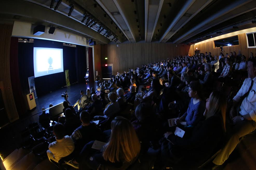 The audience at the March 29, 2017 screening of 'Life Animated' at the ReelAbilities film festival at the Museum of Science, Boston. (Courtesy MSB)